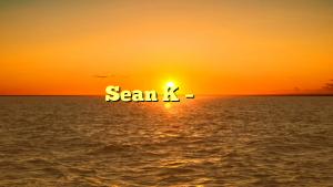 Sean K – 日本を騙そう