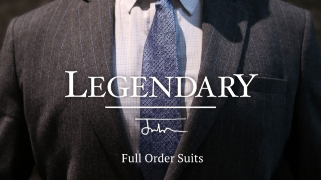 English LEGENDARY Full Order Suits